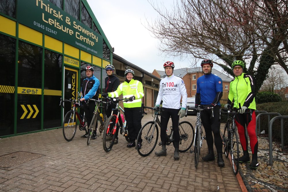 day 67 north yorkshire bike start